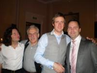 Steve, Arthur, Sir Bradley Wiggins, Scott.