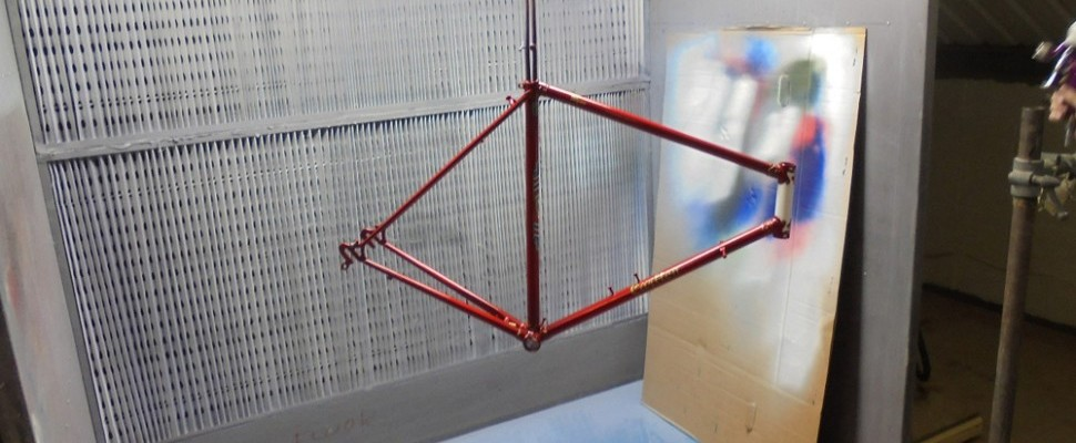 Arthur Caygill Cycles framebuilding/renovations images